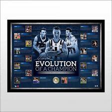 NORTH MELBOURNE KANGAROOS BRENT HARVEY 400 GAMES EVOLUTION OF A CHAMPION SIGNED