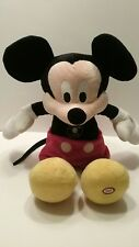 Hallmark Mickey Mouse Singing/Talking/Laughing Tickle Hot Dog Song Arms Move