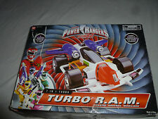 BOXED MIGHTY MORPHIN POWER RANGERS 7 IN 1 TURBO R.A.M. ROBOTIC ARESENAL BANDAI