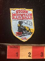 Vtg STONE MOUNTAIN RAILROAD Georgia Patch - Circles Perimeter Of Park C75H