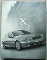 JAGUAR X TYPE Car Press Media Pack Jan 2001 2x CDs Photos