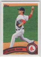 2011 Topps Baseball Boston Red Sox Team Set