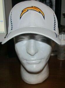 San Diego Chargers Hat Size: M/L NFL Equipment New Era Medium Large 39Thirty
