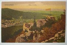 Alte kolorierte Foto-AK / PK/  ca. 1905: Baden-Baden Altes Schloß