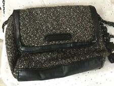 Juicy Couture  Tweed Gray Black  Crossbody Purse