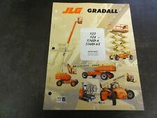 JLG Gradall 522 524 534D-6 534D-6T Lift Forklift Maintenance Manual   9133-4037