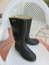 bottes de pluie AIGLE en caoutchouc véritable