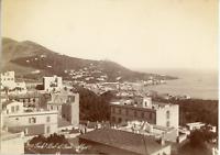 Algérie, Faubourg Bab el Oued (Alger)  Vintage albumen print.  Tirage albuminé