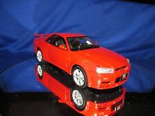 2002 SKYLINE GT-R  Import tuner NISSAN RACING 1/24 RED motor max