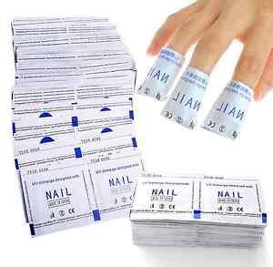 Nail Art Soak Off Remover Gel Polish Acrylic Removal Foil Wraps Pad