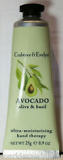 Crabtree & Evelyn AVOCADO, Olive & Basil Moisturising Hand Therapy Cream 25g