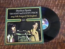 TIM HART & MADDY PRIOR LP-STEELEYE SPAN'S/SINGS FOLK OLD ENGLISH-VOL 1-CREST 23