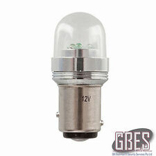 BAY15D Replacement LED Lamp 3 x CREE LEDs Glass Globe ZD0516 Car 4WD Carvan
