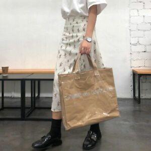 Comme Des Garcons Pvc Tote Bag New (rei Kawakubo, Cdg) Japan