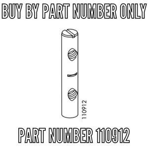 1 Ikea 110912 Cross Dowel Barrel Nut sleeves SVALBO dual end SLEEVES 110912