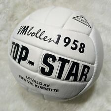 Top Star Vm Balloon | Classic Match Ball | White Leather Soccer Ball | Wc 1958