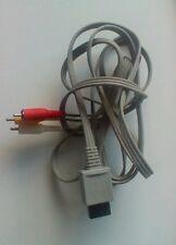 Oficial Nintendo Wii Av Cable Tv De Plomo