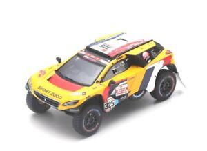 Peugeot 2008 Dkr No.325 Rally Dakar 2019 (P.Lachaume - J-M. Polato) 1:43