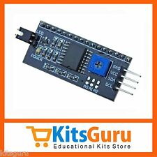 IIC/I2C/TWI/SPI Serial Interface Board Module For Arduino 1602 LCD Display KG224