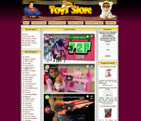 BABY TOYS STORE Website Sale, Online Business, Free Domain