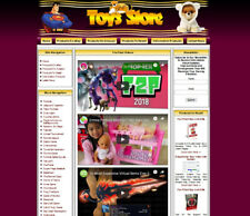Baby Toys Store Website Sale Online Business Free Domain