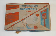 VINTAGE TUDOR TRU-ACTION ELECTRIC BASKETBALL WORKING METAL GAME BOARD 1950s