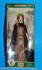 BARBIE #53367 PRINCESS OF IRELAND CELTIC DOLLS OF THE WORLD COLLECTION ~ NEW! *