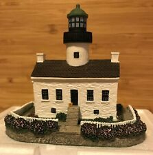 Harbour Lights Lighthouse Old Point Loma California #409 1997 w/Coa