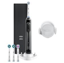 B Ware Oral-B Genius 10100S Elektrische Zahnbürste Schwarz 6 Reinigungsmodi