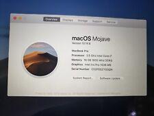 "Apple 2014 MacBook Pro 15"" Retina 2.5GHz i7 16GB 500GB"
