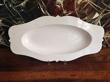 REICHENBACH Taste in weiß PAOLA NAVONE oval spitz 42cm in weiß NEU!!