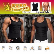 Men Slim Shaper Neoprene Belt Sport Vest Sweating For Fat Burn Waist Trainer Us