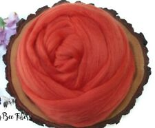 SPICE - Merino wool roving, combed top, for spinning, nuno felting - 2 oz
