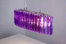 Design Pendelleuchte lila Pendellampe Hängelampe Hängeleuchte Lampe Leuchte NEU