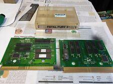 Neo Geo Mvs Fatal Fury 2 Working