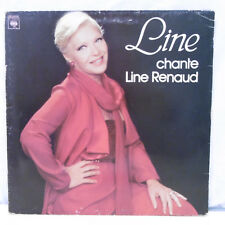 "33T Line RENAUD Disque Vinyle LP 12"" LINE CHANTE LINE RENAUD - CBS 84046 RARE"