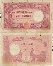"""500 LIRE GRANDE""""C"""" DEC.09 GIUGNO 1945"""