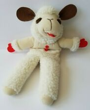 "Lambchop Hand Puppet 16"" Shari Lewis 1992 Plush Stuffed Animal White"