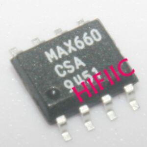 5PCS MAX660CSA CMOS Monolithic Voltage Converter SOP8