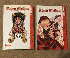Rozen Maiden 1-2 manga book lot English Peach Pitt Tokyopop fantasy