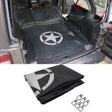 Rear Bench Seat Cover Pet Cargo Liner Dog Hammock Mat For Jeep Wrangler 4 Door