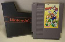 80s Video Game Spiel Nintendo NES MARIO & YOSHI