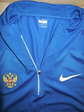 Nike Russia Long Sleeve Running Shirt Reflective Athletic Blue Exercise Mens XLT
