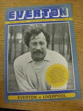 22/03/1977 Everton v Liverpool [Championship Season Liverpool] . Item in very go