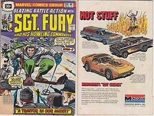 SGT FURY 134 SERGEANT RARE 30 CENT PRICE VARIANT .30 1976 ISSUE MARVEL G-