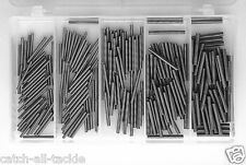 Stainless Steel Chafing Spring Kit 250 Pieces 1.2mm ID- 2.0mm ID 100b-400lb Mono
