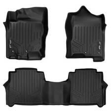 Maxliner 17-19 Fits Nissan Titan 16-19 Titan XD Cab Floor Mats Tool Box Row Blk