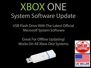 XBOX One Update USB Drive Official Microsoft Firmware System Update Software