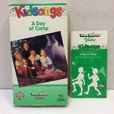 Kidsongs: A Day At Camp Kids Songs VHS View-Master • w/ Sing-Along Lyric Book‼