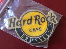 Hard Rock Cafe BRUSSELS LOGO CLASSIC MAGNET - NEW